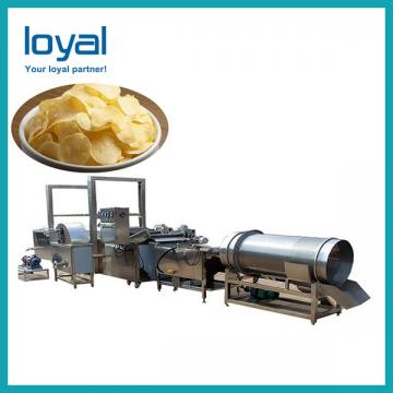 Fully Automatic Natural Potato Chips French Fries Processing Line