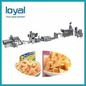 2018 Automatic Pizza rolls/crispy shell processing line/ Fried Snack Food wheat Flour Bugles Chips Making Machine