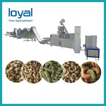 Pet Treats Molding Dog Food Production Line For Producing Pet Snacks