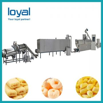 Automated Puffed Snacks Machine , Extrusion Snack Food Processing Machinery