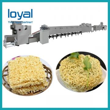 Instant Noodle Processing Machine Fried Instant Noodle Making Equipment