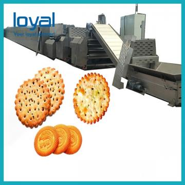 Printing And Filling Biscuit Manufacturing Processing Machine For Making Animal Puff Snack Biscuit