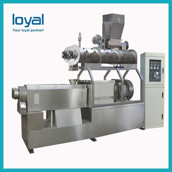 Big capacity automatic co-extruded 3d pellet grain cereal snacks bar food making machine processing equipment #1 image