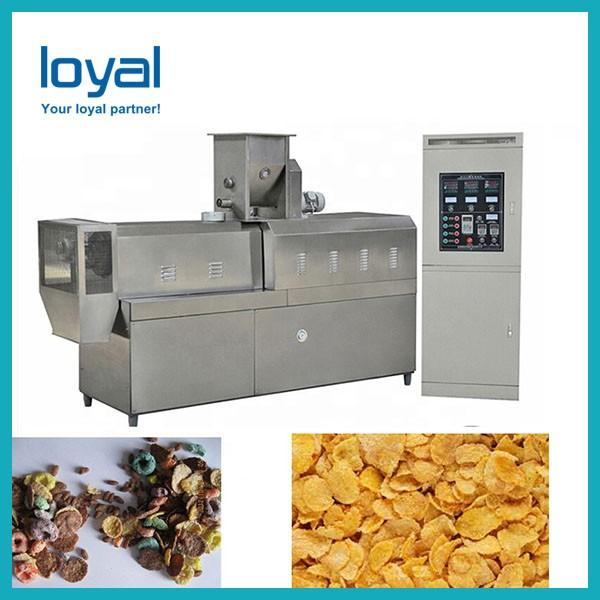 Ce certificate corn flakes breakfast cereal making equipment choco flavoured corn flakes extruder machine #1 image