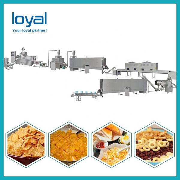 Choco Pops Breakfast Cereals Sweet Flakes Puffs Making Machine #3 image