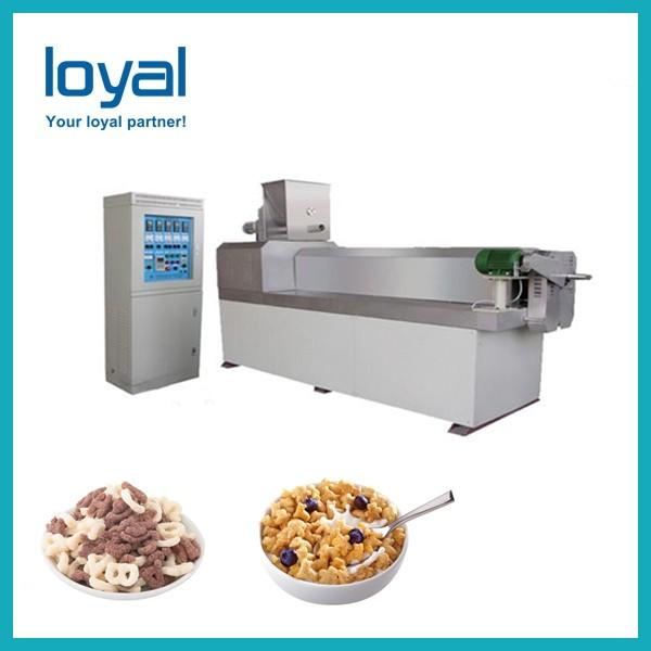 Popular and Industrial Choco Flakes Cereals Making Machine for Sale #3 image